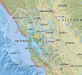 В Калифорнии произошло землетрясение магнитудой 4,4
