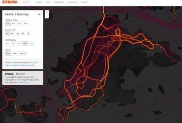 Карта данных фитнес-приложений раскрыла секретные базы США