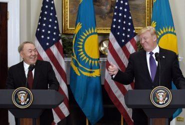 Трамп высоко оценил отношения с Казахстаном на встрече с Назарбаевым