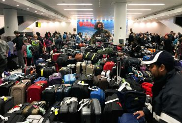 В аэропорту Кеннеди задерживают и отменяют рейсы из-за прорыва водопровода
