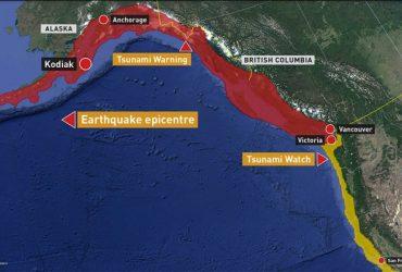 Тысячи жителей Аляски эвакуированы из-за землетрясения магнитудой 7.9