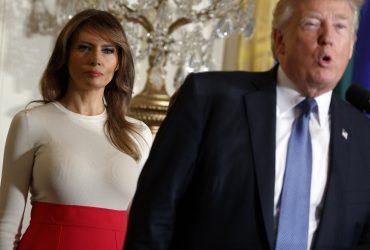Как Мелания Трамп объявила молчаливый протест после известий о связи президента с порноактрисами