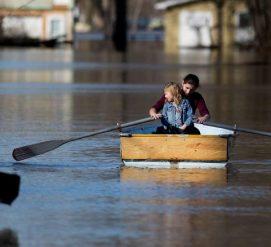 Наводнения в США продлятся до конца недели