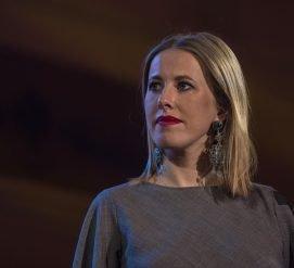 В Нью-Йорке пройдет открытая встреча с Ксенией Собчак