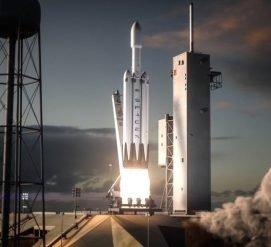 ВИДЕО: Где посмотреть запуск ракеты Falcon Heavy