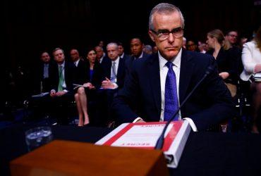 Заместитель директора ФБР Эндрю Маккейб уволен за два дня до пенсии