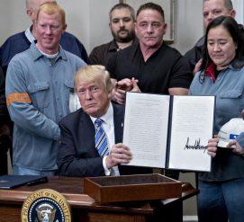 Трамп ввел пошлину на импорт стали и алюминия. Союзники недовольны