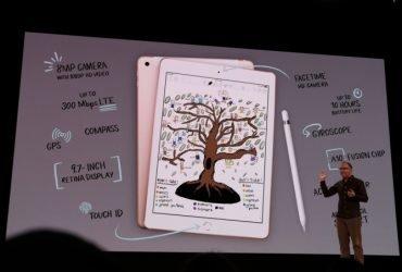 ВИДЕО: Apple представили iPad для школьников и студентов