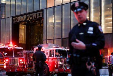 В небоскребе Trump Tower в Нью-Йорке произошел пожар. Один человек погиб