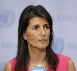 Никки Хейли поссорилась с Белым домом из-за российских санкций