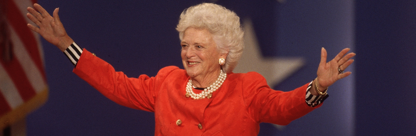 synopsis of barbara bush addressing wel John ellis jeb bush sr (born february 11, 1953) is an american politician who served as the 43rd governor of florida from 1999 to 2007 bush, who grew up in houston, is the second son of former president george h w bush and former first lady barbara bush, and a younger brother of former president george w bush.