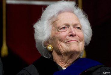Умерла бывшая первая леди США Барбара Буш
