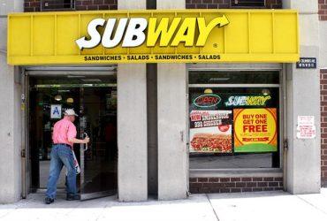 В США закроются 500 заведений Subway
