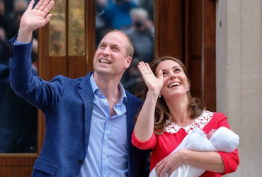 ФОТО: У Кейт Миддлтон и принца Уильяма родился третий ребенок