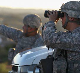 Департамент нацбезопасности отправит 700 военных на границу США и Мексики
