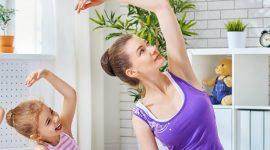 Бесплатная йога для детей и родителей
