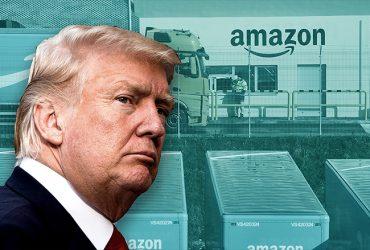 Дональд Трамп продолжает войну с Amazon за стенами Белого дома