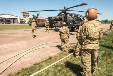 Военный вертолет случайно сбросил боеприпасы на начальную школу в Техасе