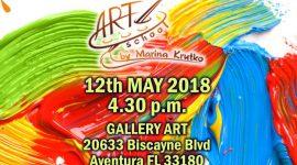 Бесплатная выставка детских картин и скульптур