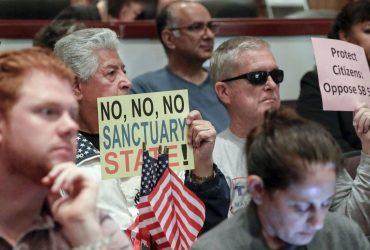 В каких городах Калифорнии нелегалов будут передавать иммиграционным властям, несмотря на политику города-убежища