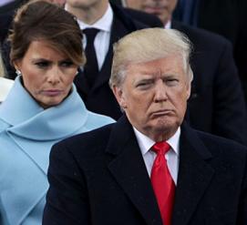 Дональд Трамп поздравил Меланию с выздоровлением, забыв, как пишется её имя