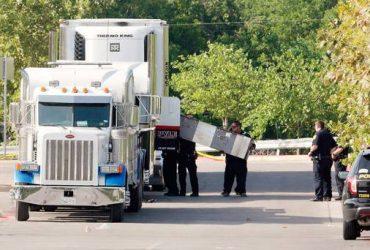 В Техасе нашли грузовик почти со 100 нелегалами