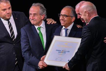 США, Канада и Мексика примут чемпионат мира по футболу в 2026 году