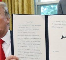 Дональд Трамп запретил разделять семьи на границе