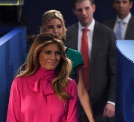 """Куртка """"Мне плевать"""" и другие наряды Мелании Трамп, вызвавшие скандал"""