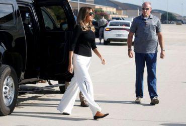 Мелания Трамп вновь приехала на границу США и Мексики из-за детей-нелегалов