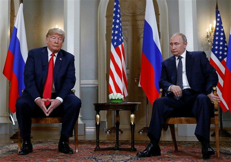 """Трамп """"с нетерпением ждет"""" следующей встречи с Путиным"""