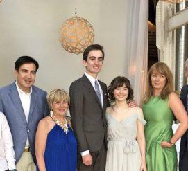 Михаил Саакашвили женил сына в США