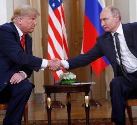 О чем говорили Трамп и Путин на своем первом саммите