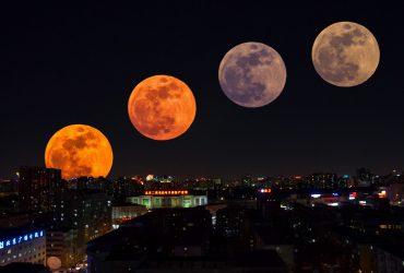Жители Земли наблюдают самое долгое лунное затмение века