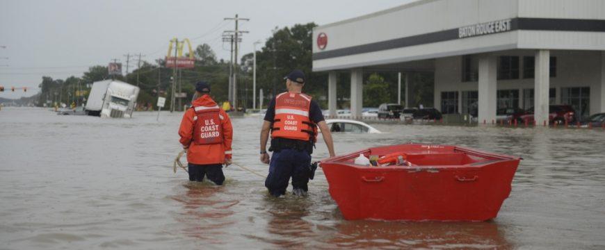 На Востоке США ожидаются опасные наводнения