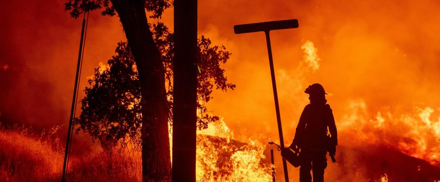 В Калифорнии объявили режим чрезвычайной ситуации из-за пожаров: погибли пять человек