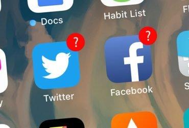 Акции Twitter и Facebook упали почти на 20 процентов