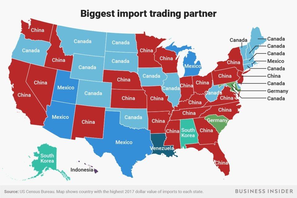Как торговая война влияет на жителей США