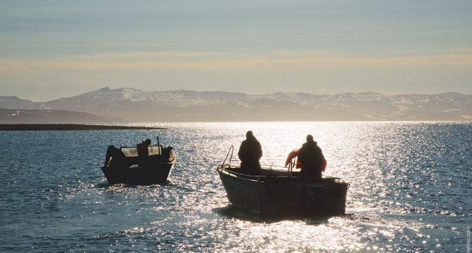 Американец случайно приплыл из Аляски на Чукотку