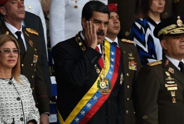 ВИДЕО: На президента Венесуэлы совершено покушение. Подозреваются террористы из Флориды