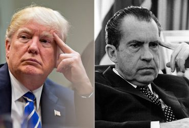 Рейтинг Дональда Трампа упал до уровня Никсона после Уотергейта