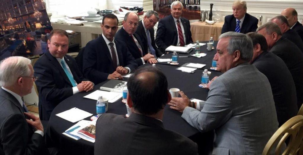 Джефф Сешнс поддерживал идею встречи Трампа с Путиным во время предвыборной кампании