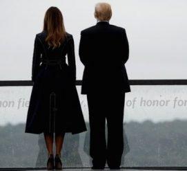 Дональд Трамп почтил память жертв терактов 11 сентября. Не без скандала