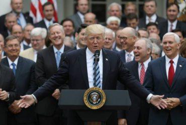 Как Белый дом борется с политикой Трампа