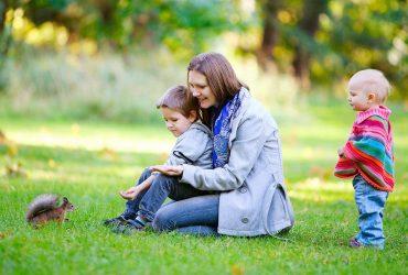 Чем можно заняться с детьми на прогулках