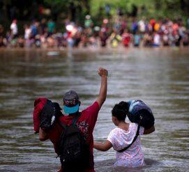В Центральной Америке появился новый караван с агрессивными мигрантами
