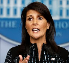 Представитель США при Организации Объединенных Наций уходит в отставку