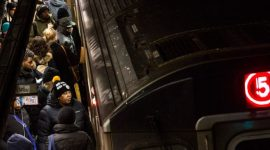 Поездка в «призрачном» вагоне метро