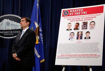 Правительство США обвинило семерых российских хакеров во взломе 40 антидопинговых агентств