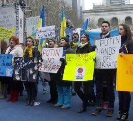 «Нет российской агрессии в Украине»: В Нью-Йорке и Вашингтоне пройдут акции протеста